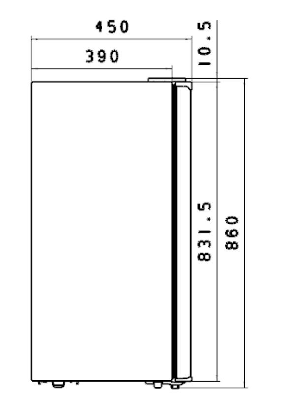 Méretrajz_Technical drawing_RFF121W.1