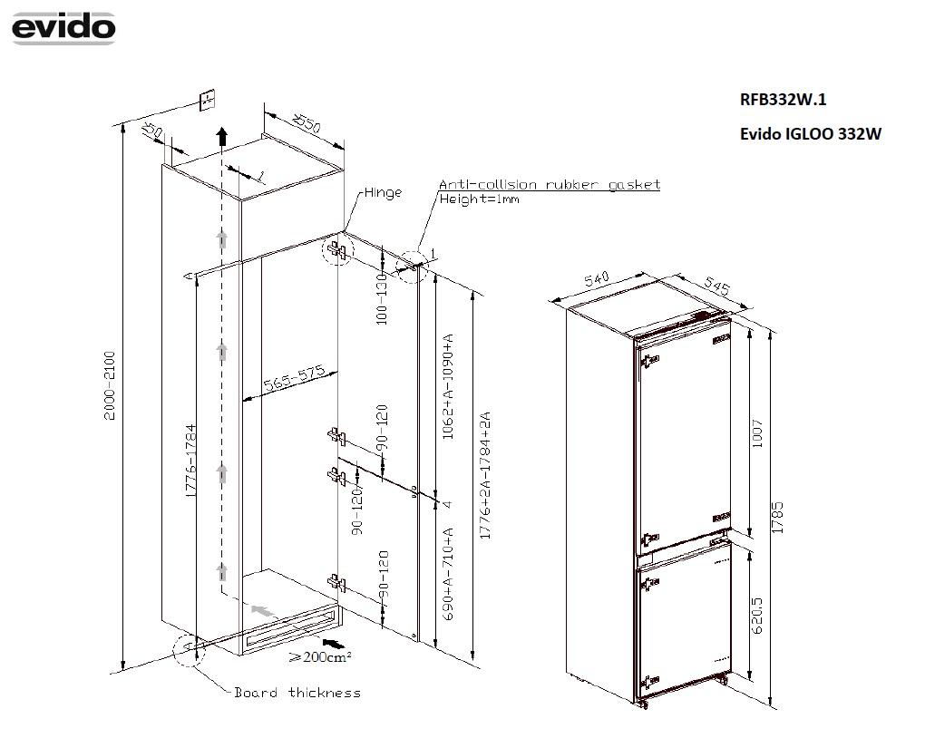 Méretrajz_Technical drawing_RFB332W.1